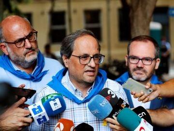 El presidente de la Generalitat Quim Torra