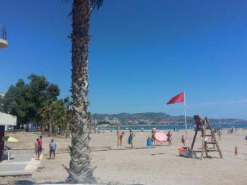 La playa de Benicàssim