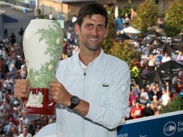 Djokovic tras ganar un Masters 1000