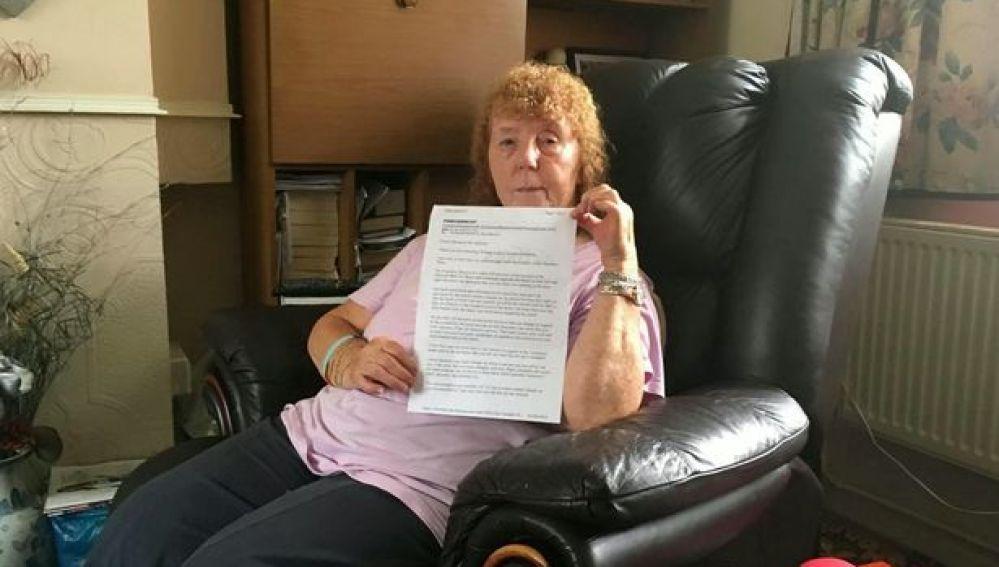 Freda, la turista británica con su queja por las vacaciones en Benidorm