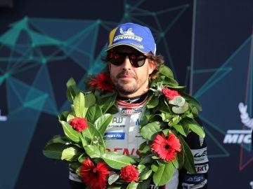 Fernando Alonso, tras la victoria en las seis horas de Silverstone