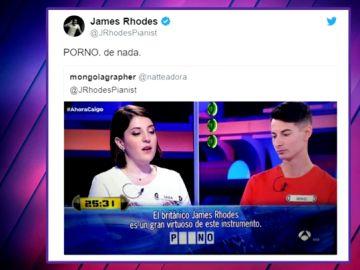 La respuesta de James Rhodes