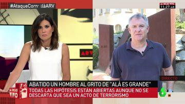 """Valentín Anadón: """"La posibilidad de que haya un atentado es diaria. Puede ocurrir en cualquier momento"""""""