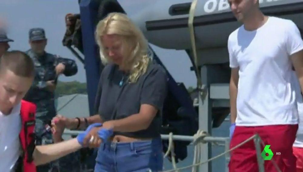 Rescatan a una mujer que pasó 10 horas en el Mar Adriático tras caer del crucero en el que viajaba