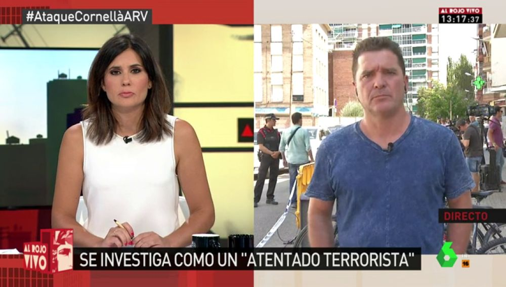 """Carlos Quílez, sobre el ataque terrorista en la comisaría de Cornellà: """"Parece ser que no hay relación entre este individuo y la célula de Ripoll"""""""
