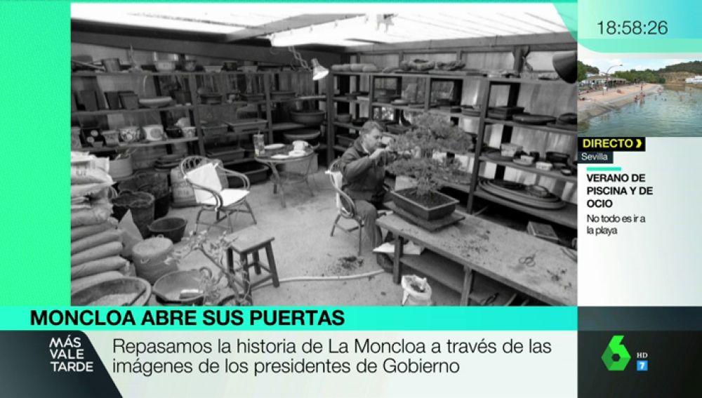 Repasamos la historia de La Moncloa a través de las imágenes de los presidentes del Gobierno