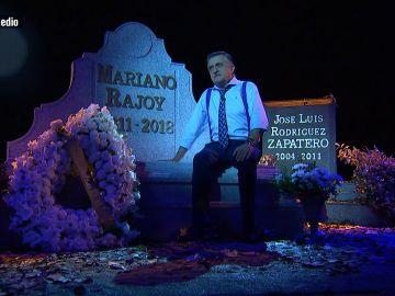 Wyoming en la 'tumba' de Rajoy