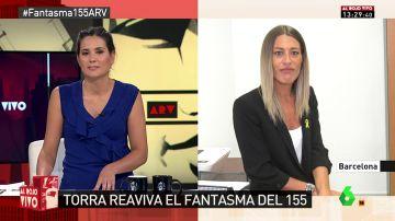 """Miriam Nogueras: """"Sigue habiendo presos políticos y exiliados: la situación de Cataluña con Sánchez no ha cambiado"""""""