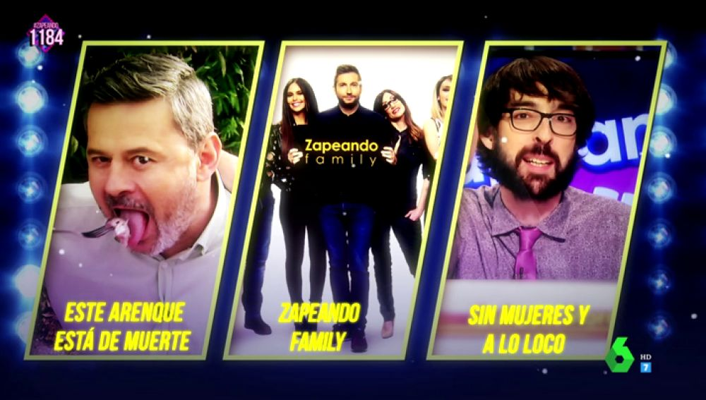 Finalistas premio Zapeando 2018