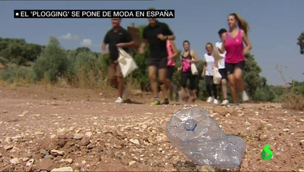 El nuevo deporte de moda: 'ploggin', o recoger basura mientras corres