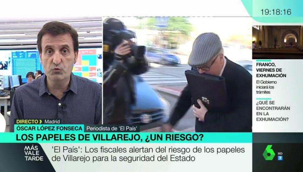 """Óscar López Fonseca: """"La información que pudo manejar Villarejo alcanza a muchas personas: hablamos de funcionarios, policías o agentes del CNI"""""""