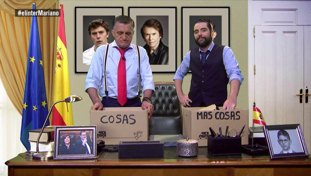 Wyoming y Dani Mateo en la 'mudanza' de Rajoy