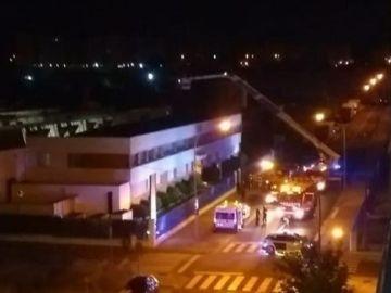 Incendio en la empresa 'Toybe' en Logroño