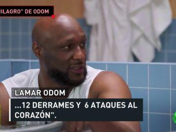 """Lamar Odom: """"Sufrí seis ataques al corazón cuanto estuve en coma"""""""