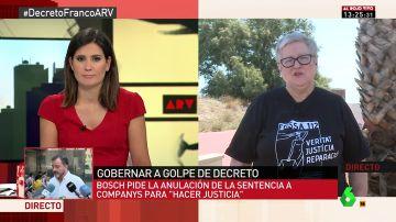 """Carmen Gómez: """"En Alemania sería impensable que Hitler estuviera enterrado junto a los judíos. Aquí hacemos apología del franquismo"""""""