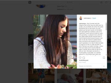 Instagram de la hermana de Diana Quer