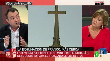 """Manuel Cobo, sobre la exhumación de Franco: """"A mí me da igual, y no es que sea fascista, es que me da lo mismo que le pisen la calavera"""""""
