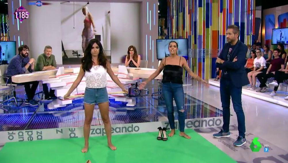 Reto fitness Lorena Castell y Paula Prendes