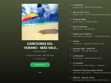 Lista Spotify MVT