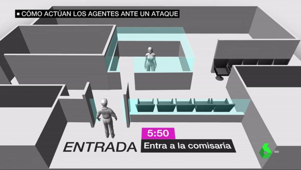 BORRADOR Sindicatos de los mossos afirman que la respuesta de la mossa fue proporcionado al ataque de la comisaría de Cornellà