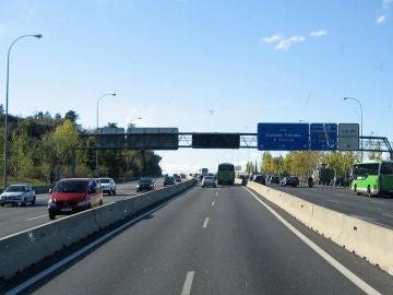 Carril VAO Madrid