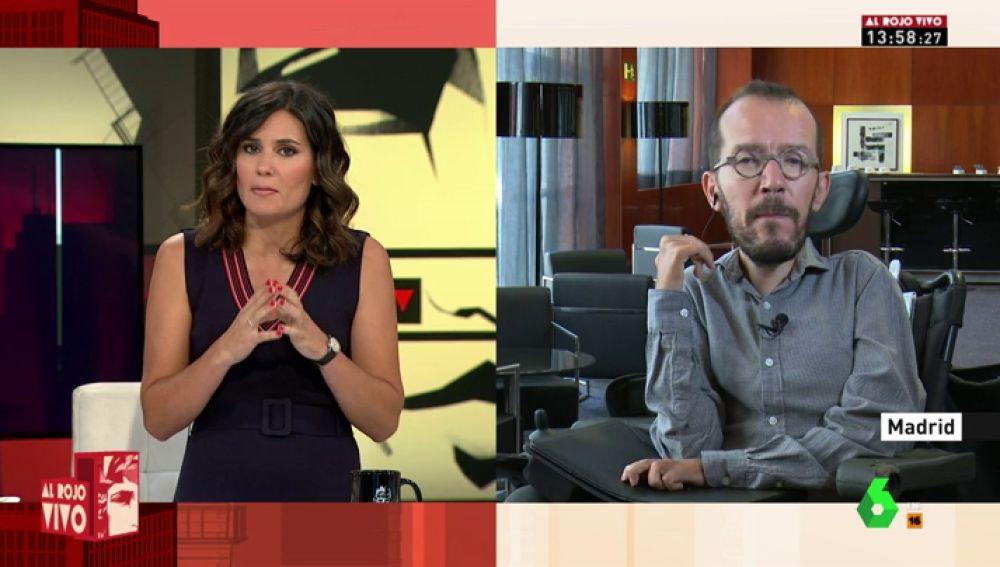 """Pablo Echenique, sobre la reunión con el PSOE: """"Hemos conseguido que el Gobierno asuma una actitud más progresista y valiente"""""""