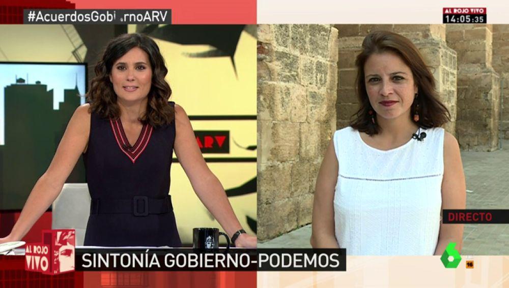"""Adriana Lastra, sobre las críticas de Ciudadanos y PP: """"El problema no son los reales decretos, lo que les molesta es exhumar al dictador"""""""