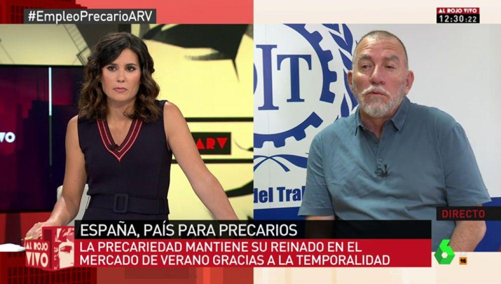 """Joaquín Nieto: """"El número de trabajadores pobres en España es del 40%, un porcentaje superior al de la Unión Europea"""""""