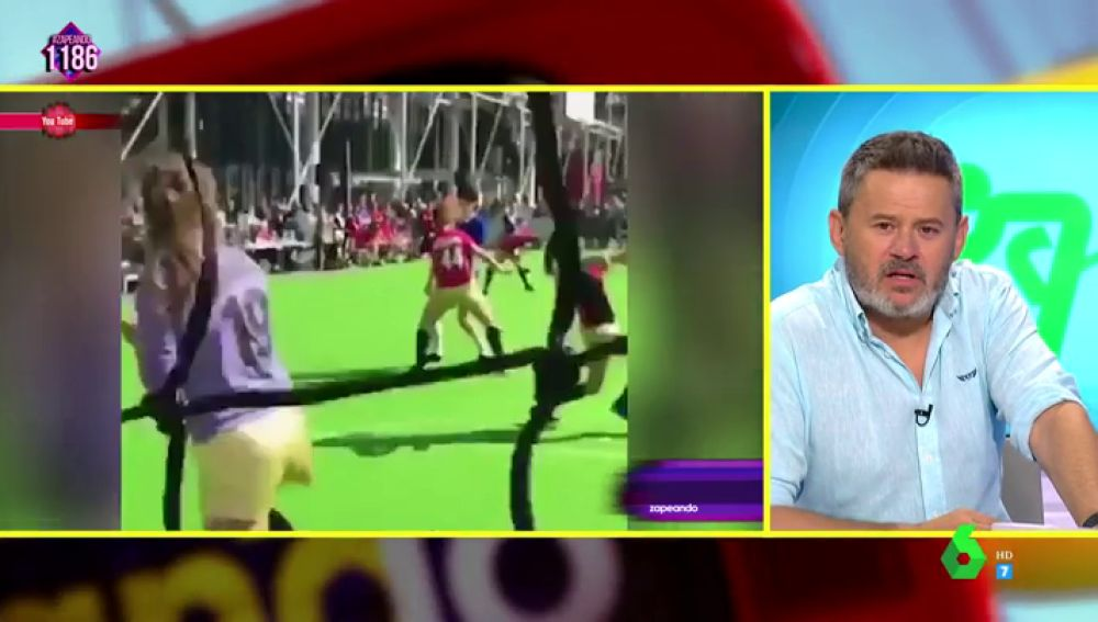 Miki Nadal comenta el futbaile