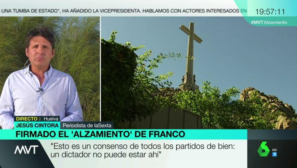 """Jesús Cintora, tras la firma del 'alzamiento' de Franco: """"Los fachas están haciendo su agosto, proliferan como las medusas"""""""