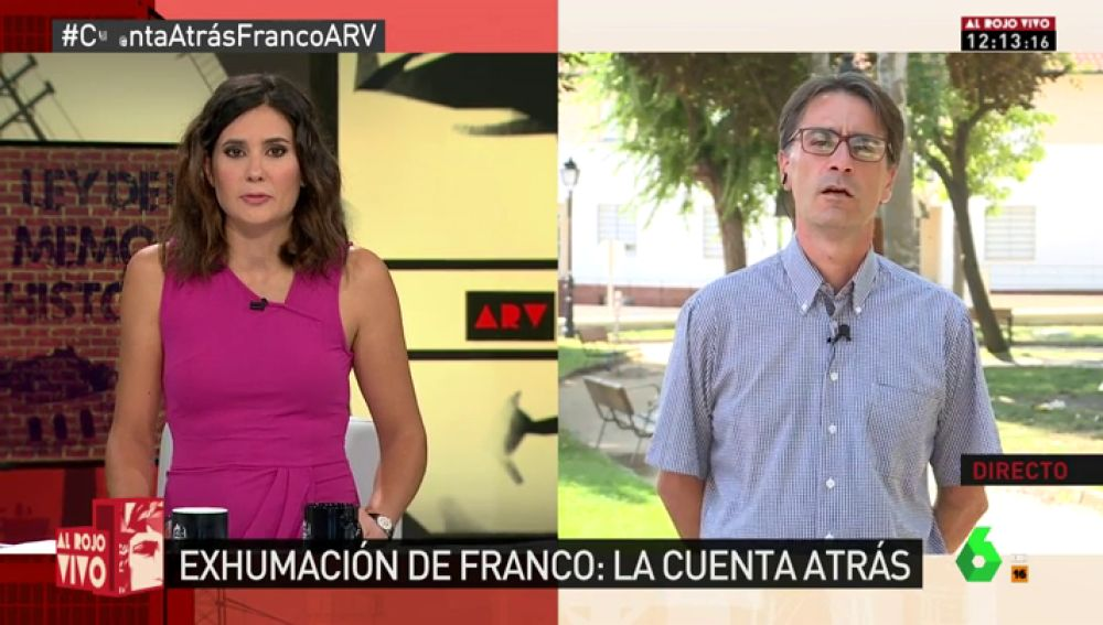 """Gutmaro Gómez: """"No sabemos todo lo que ocurrió en el franquismo. Hay archivos a los que no podemos acceder"""""""