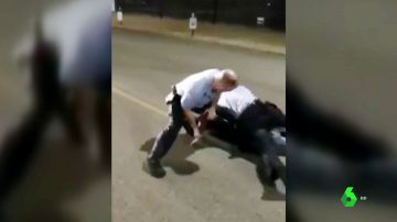 Agresión policial a un joven en Misuri, EEUU