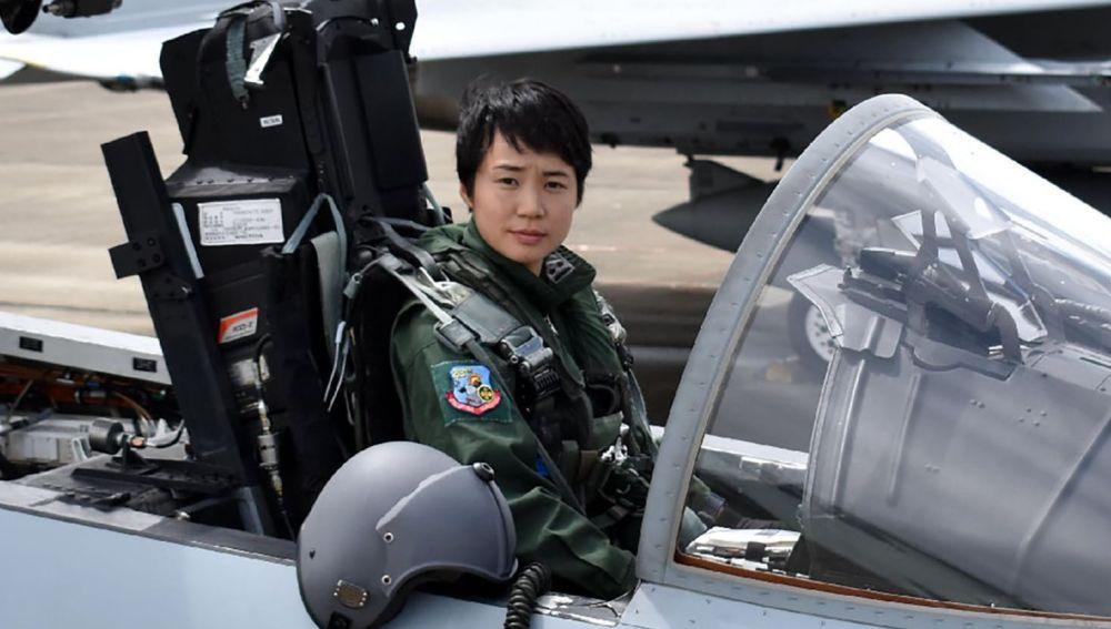 Misa Matsushima, primera mujer piloto de Japón