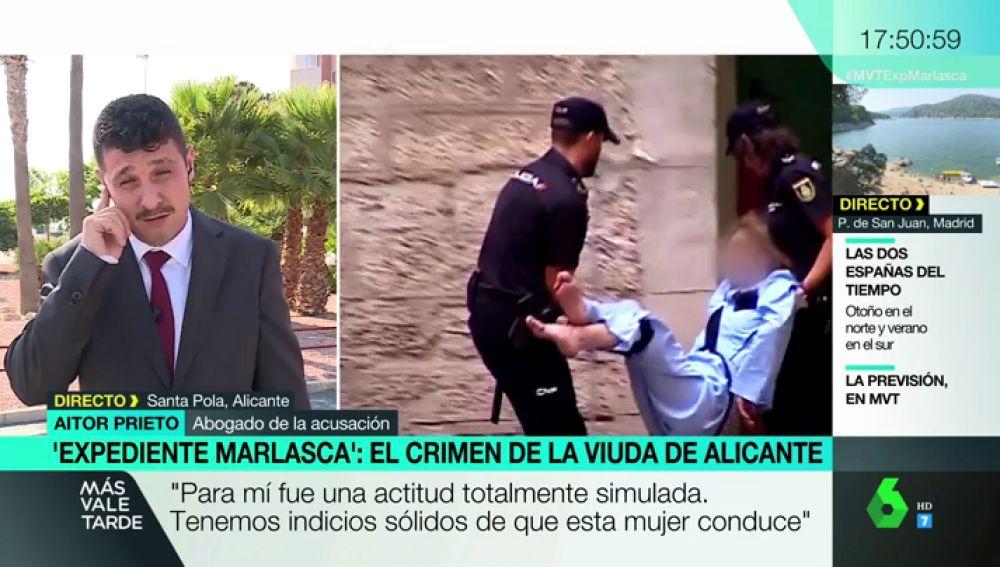 """Habla el abogado de la acusación del crimen de Alicante: """"Ella simula un estado vegetal pero hay indicios sólidos de que no es así"""""""