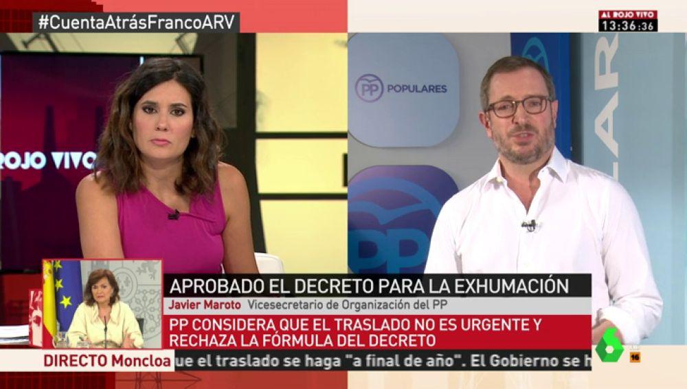 """Javier Maroto: """"El CIS ya no pregunta a los ciudadanos por Franco. Este tema ya no interesa a los españoles"""""""