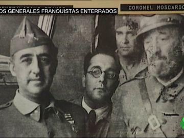 Los generales franquistas Moscardó y Milans del Bosch continúan enterrados en el Alcázar de Toledo pese a ser un lugar de titularidad pública