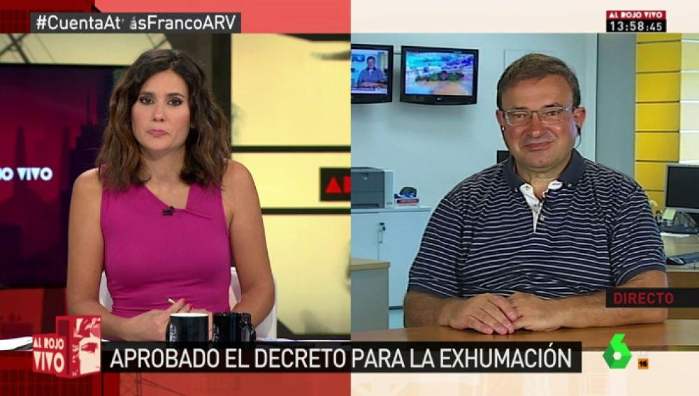 """Carlos García de Andoin: """"Es importante que el lugar sea un memorial para las víctimas de la guerra. No hay lugar para Franco"""""""
