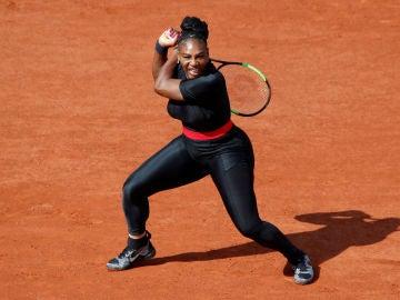 Serena Williams, en Roland Garros