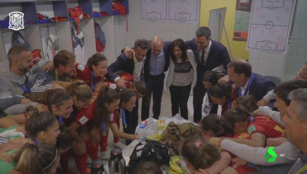 La Selección SUB-20 fememina recibe el apoyo de Pedro Sánchez tras su derrota ante Japón