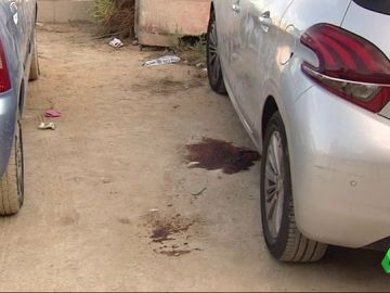 Imagen del lugar del crimen del destornillador en Alicante