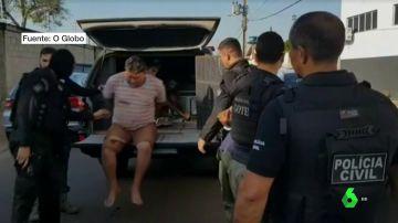 Detenidos en Brasil