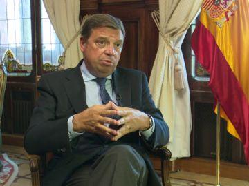El ministro de Agricultura, Luis Planas