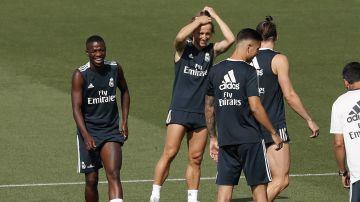 Debut discreto de Vinicius con el Real Madrid Castilla