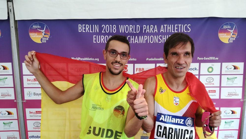 Manuel Garnica, campeón de Europa en 5000 T11