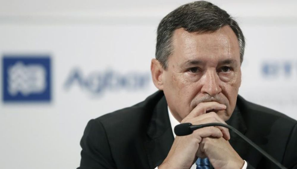 El presidente ejecutivo de Agbar, Ángel Simón