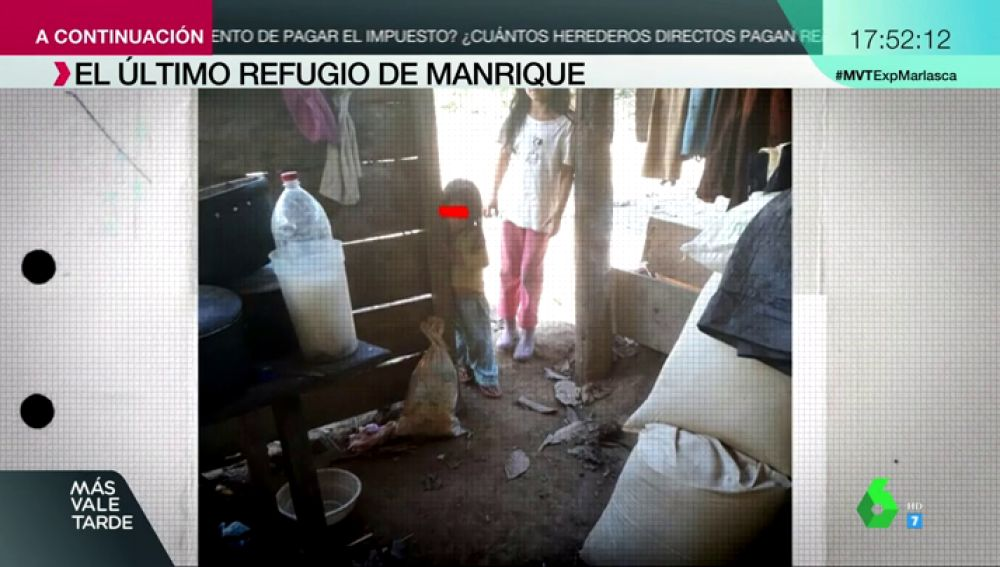 A la intemperie y llena de suciedad: así era la choza en la que vivía Patricia Aguilar, captada por el gurú Felix Steven Manrique