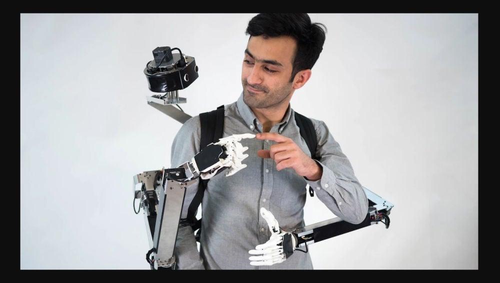 Mochila robótica