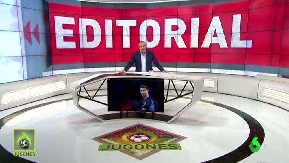 """Josep Pedrerol: """"El Madrid es peor sin Cristiano… pero sin Cristiano, puede jugar mejor"""""""