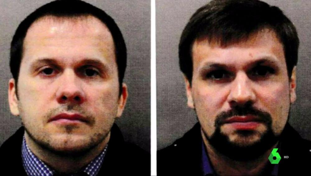Identifican a dos ciudadanos rusos como sospechosos del envenenamiento del exespía Skripal y su hija