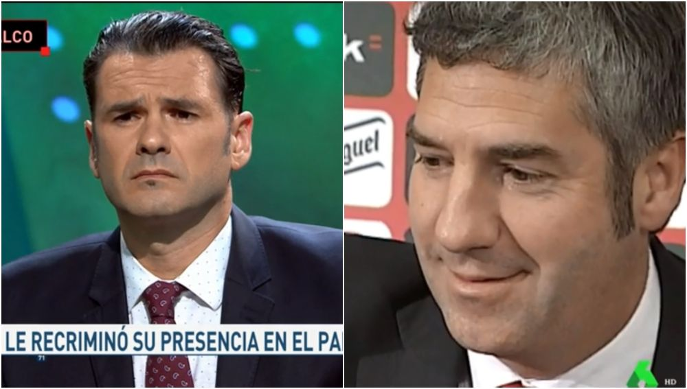 Iñaki López y Josu Urrutia